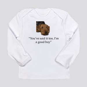 Sulking Airedale Terrier Givin Long Sleeve T-Shirt