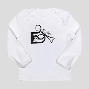 Hair Stylist/Beauticians Long Sleeve Infant T-Shir