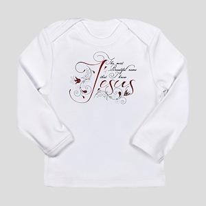 Beautiful name of Jesus Long Sleeve T-Shirt