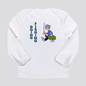 GOING FISHING Long Sleeve Infant T-Shirt