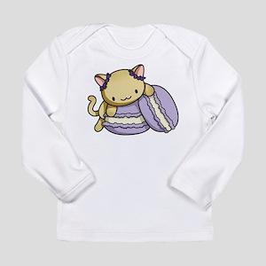 Macaron Kitty Long Sleeve T-Shirt