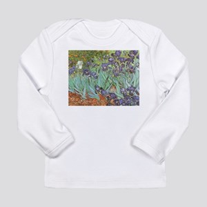 Van Gogh Irises Long Sleeve Infant T-Shirt