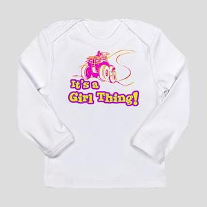 4x4 Girl Thing Long Sleeve Infant T-Shirt