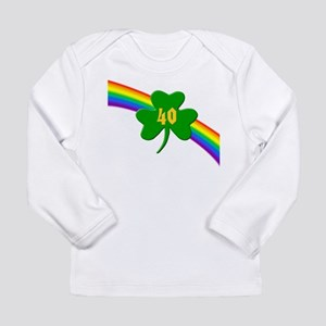 40th Shamrock Long Sleeve Infant T-Shirt