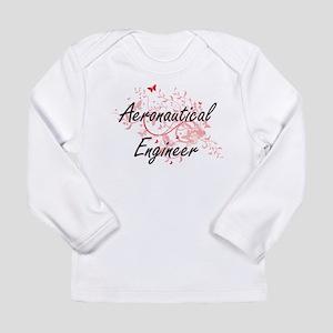 Aeronautical Engineer Artistic Long Sleeve T-Shirt