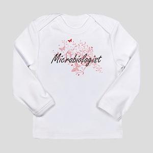 Microbiologist Artistic Job De Long Sleeve T-Shirt