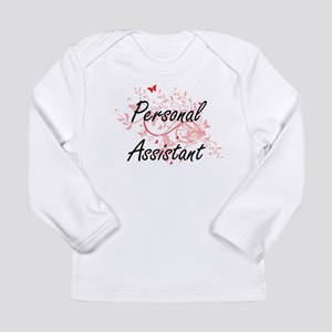Personal Assistant Artistic Jo Long Sleeve T-Shirt