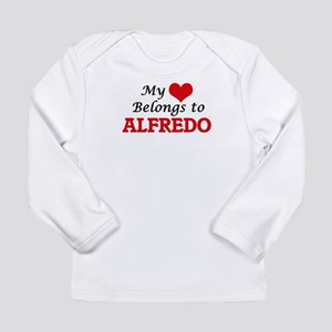 My heart belongs to Alfredo Long Sleeve T-Shirt