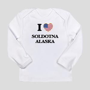 I love Soldotna Alaska Long Sleeve T-Shirt