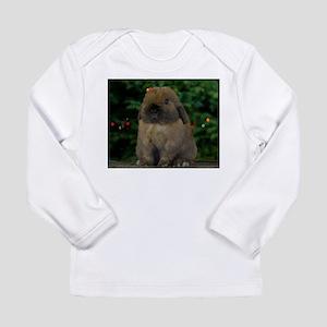 Christmas Bunny Long Sleeve Infant T-Shirt
