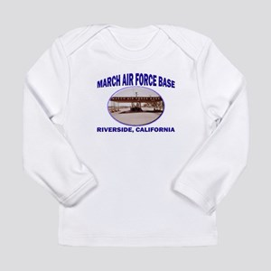March Air Force Base Long Sleeve T-Shirt
