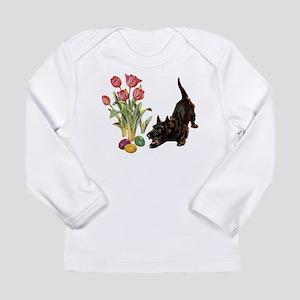 EASTER SCOTTIE Long Sleeve Infant T-Shirt