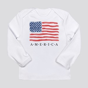 4th of July Long Sleeve Infant T-Shirt