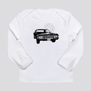 Impala with devils trap Long Sleeve Infant T-Shirt