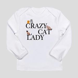 Crazy Cat Lady Long Sleeve Infant T-Shirt