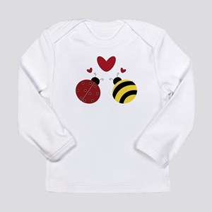 When Lady Met Bumble... Long Sleeve T-Shirt