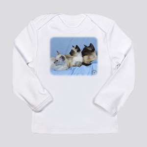 Siamese Cat 9W055D-074 Long Sleeve Infant T-Shirt