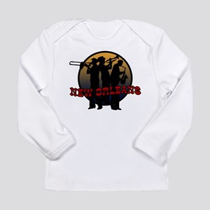 New Orleans Jazz Players Long Sleeve Infant T-Shir