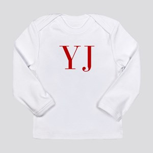 YJ-bod red2 Long Sleeve T-Shirt
