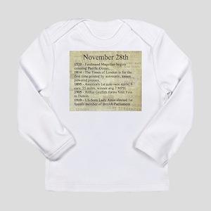 November 28th Long Sleeve T-Shirt