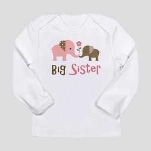 Big Sister - Mod Elephant Long Sleeve T-Shirt