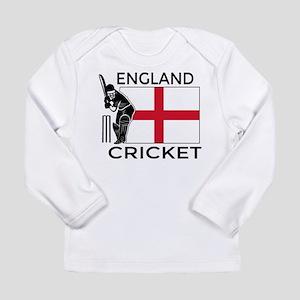 England Cricket Long Sleeve Infant T-Shirt