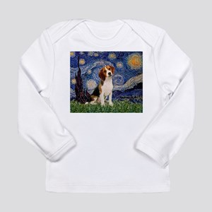 Starry Night & Beagle Pup Long Sleeve Infant T