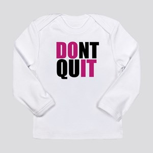 Do It, Athletic Humor Long Sleeve T-Shirt