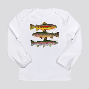 3 Western Trout Long Sleeve T-Shirt