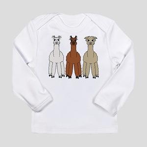 Alpaca (no text) Long Sleeve T-Shirt