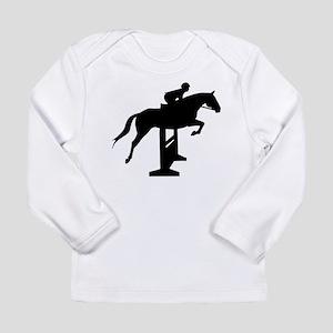 Hunter Jumper Over Fenc Long Sleeve Infant T-Shirt