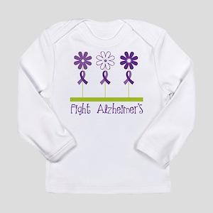 Fight Alzheimers Long Sleeve Infant T-Shirt