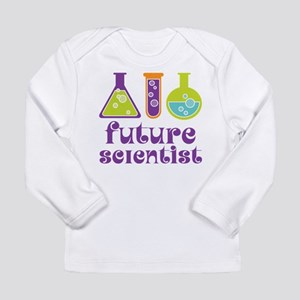 Future Scientist Science Long Sleeve Infant T-Shir