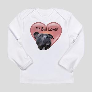 Pit Bull Lover Long Sleeve Infant T-Shirt