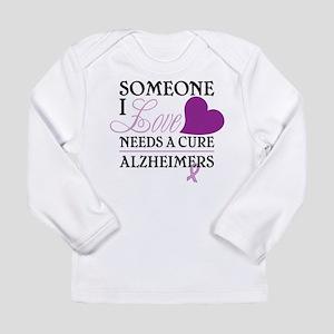 Someone I Love.... Long Sleeve Infant T-Shirt