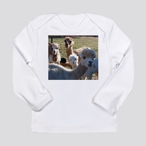 ALPACA FAMILY PORTRAIT™ Long Sleeve Infant T-Shirt