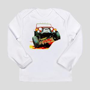 Jeep rock crawling Long Sleeve Infant T-Shirt