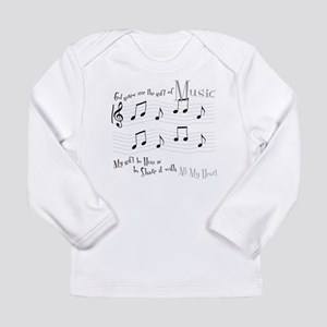 Gift of Music #1 Long Sleeve Infant T-Shirt