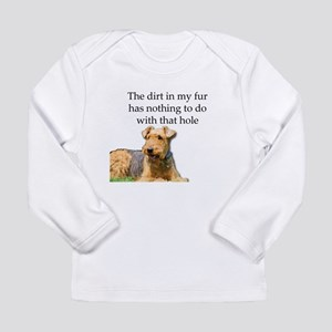 Airedale Sees no connection be Long Sleeve T-Shirt
