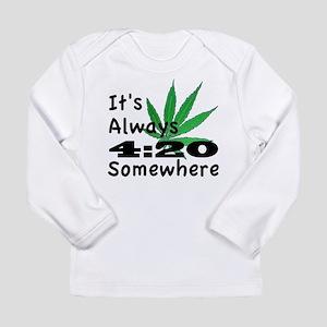 420 Long Sleeve Infant T-Shirt