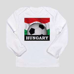 Hungary Football Long Sleeve Infant T-Shirt
