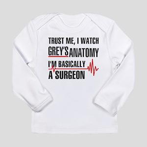 Greys Anatomy Trust me Long Sleeve T-Shirt