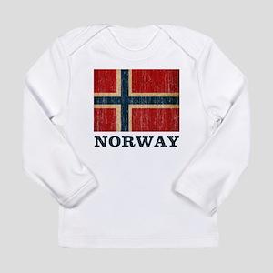 Vintage Norway Long Sleeve Infant T-Shirt