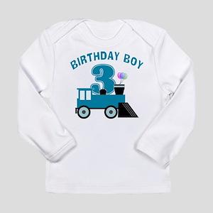3rd Birthday Boy Long Sleeve T-Shirt