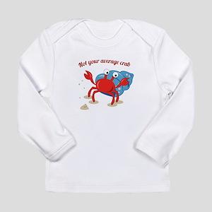 Average Crab Long Sleeve T-Shirt