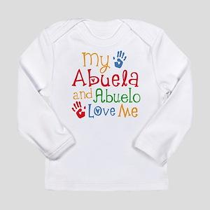 Abuelo and Abuela Love Me Long Sleeve T-Shirt