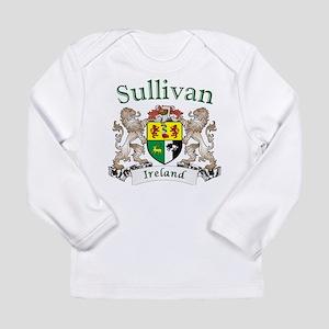 Sullivan Irish Coat of Arms Long Sleeve T-Shirt