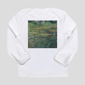 Waterlilies by Claude Monet Long Sleeve T-Shirt