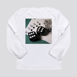 Cards And Dice Long Sleeve T-Shirt