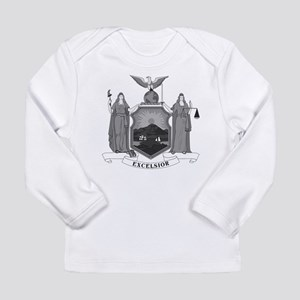 New York State Flag Long Sleeve Infant T-Shirt